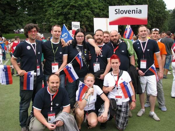 Dvakrat zlate in bronaste Gay Games 2010