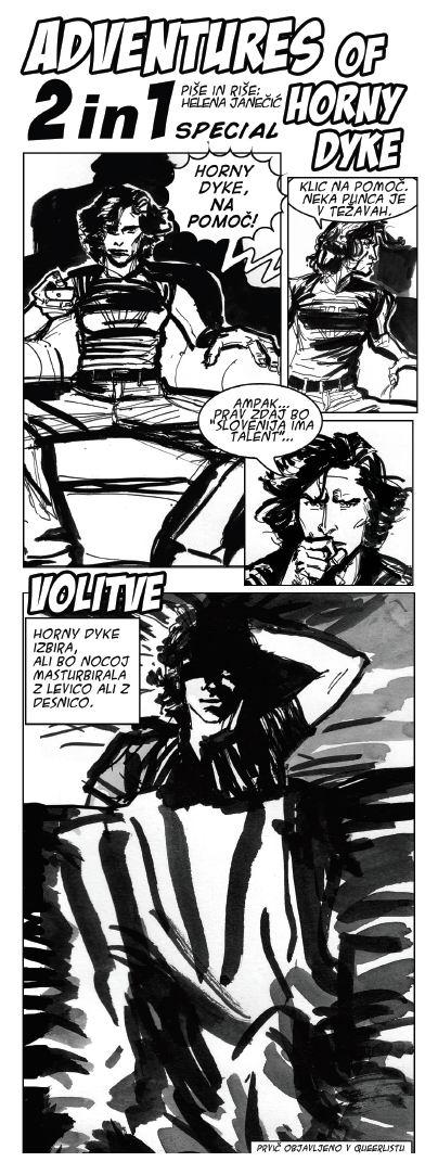 Adventures of horny dyke 18/19