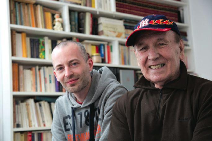 Andrej Zavrl in Ciril Bergles