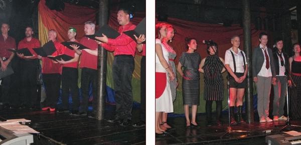 Pevski zbor za polaganje temeljnih kamnov