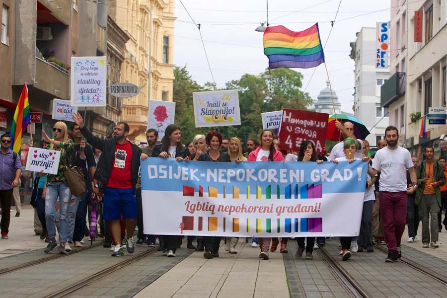 Parada ponosa Osijek 2014