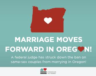 equal marriage Oregon 330