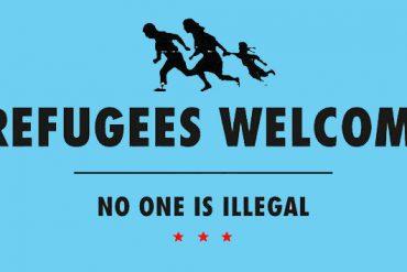 refugeeswelcomeblue