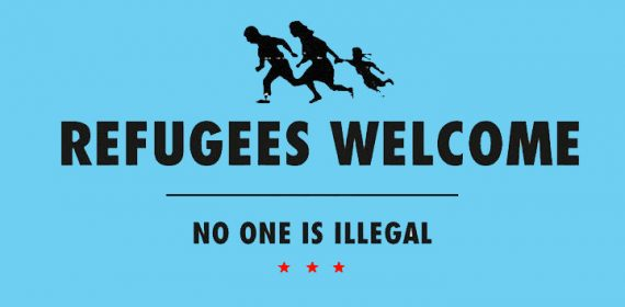 refugeeswelcomeblue