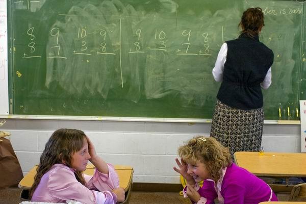 Oprostite, gospa učiteljica, ste lezbijka?