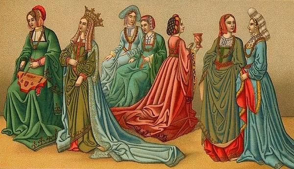 Lezbična ljubezen v srednjem veku