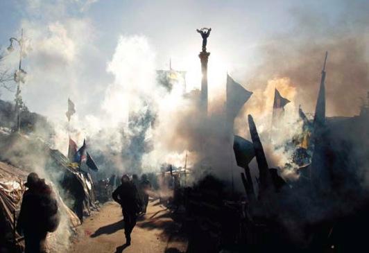 Ukrajina: Lenin, Kličko in Pomada