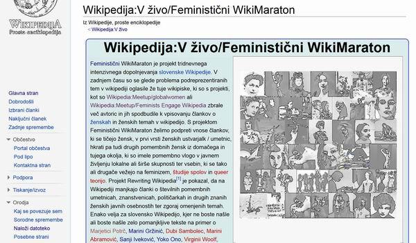 Feministicni WikiMaraton
