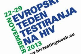 HIV testing week logo SLOVENE WEBSITE