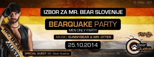 Bearquake - 25. 10. 2014
