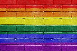 flag wall rainbow