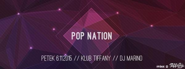 Pop nation - 6. 11. 2015