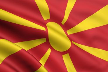 MACEDONIA waving flag by mak110