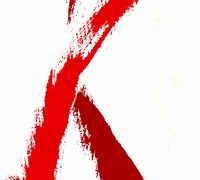 hiv aids red ribbon 200